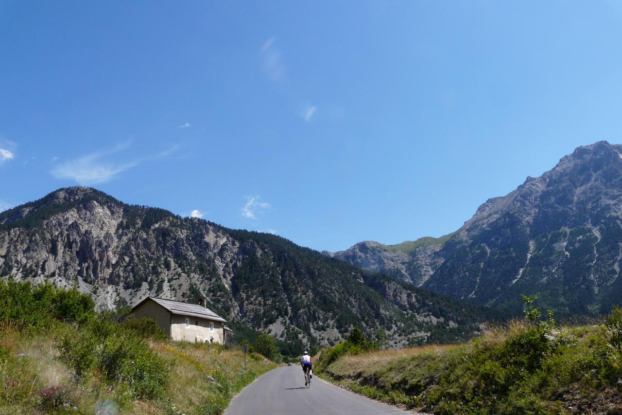 Circuit vélo par l' Italie
