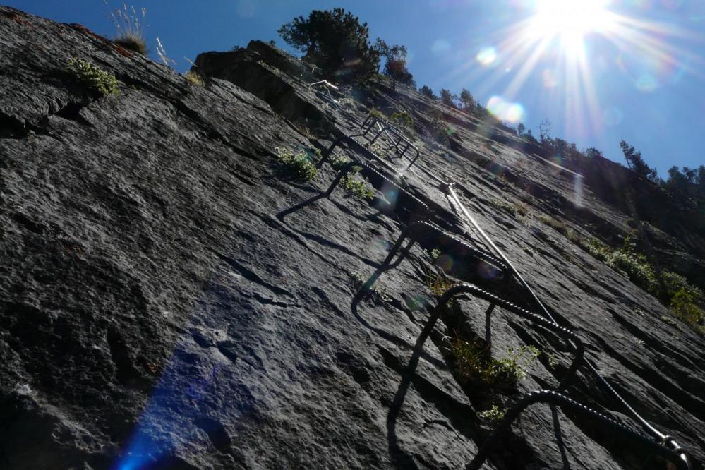 Belle verticale dans Rocca Clari