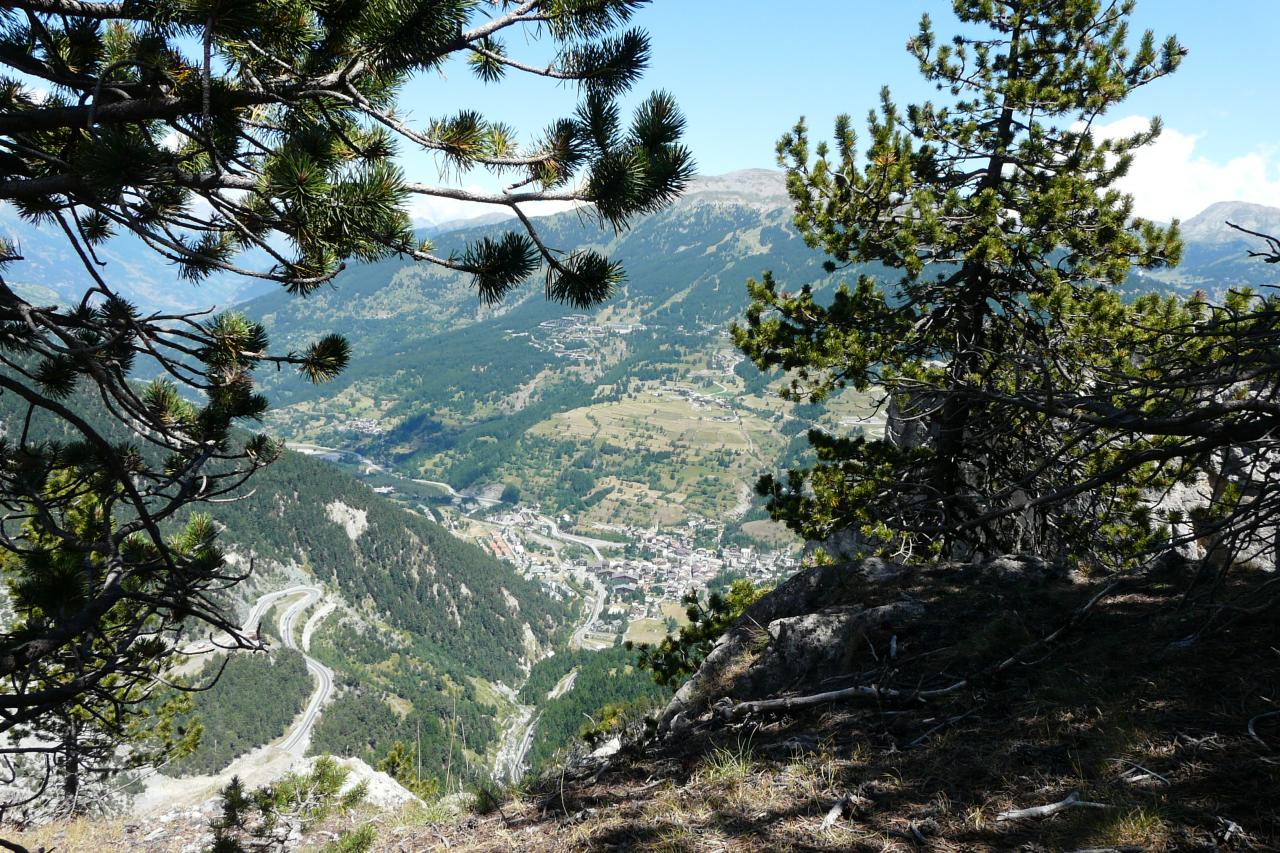 Sortie de la via ferrata de Rocca Clari