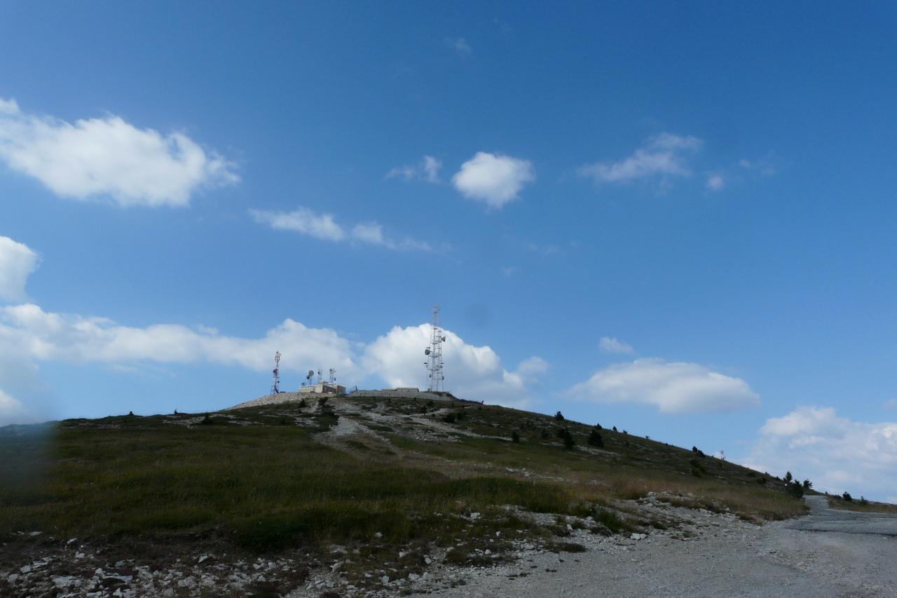 sommet de la montagne de Lure