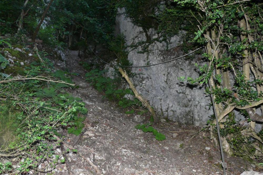 la montée du pas de Pabro
