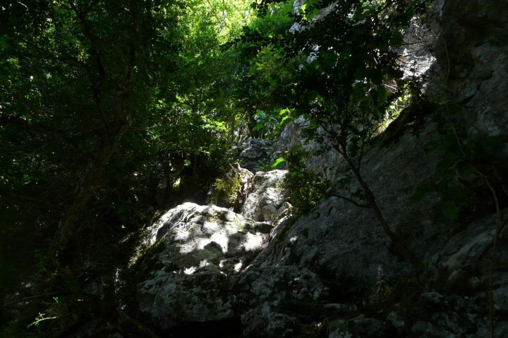 le haut du pas de Pabro