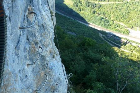 de l' autre côté de l' Angle, la traversée vertigineuse reprend ! (via de la guinguette à Hostias)