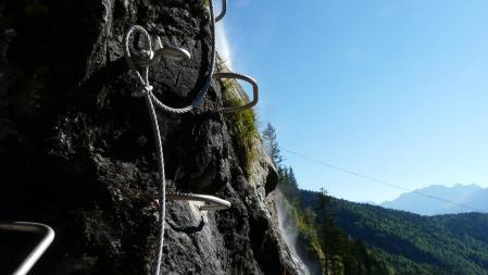 via de la cascade à Vaujany - première partie
