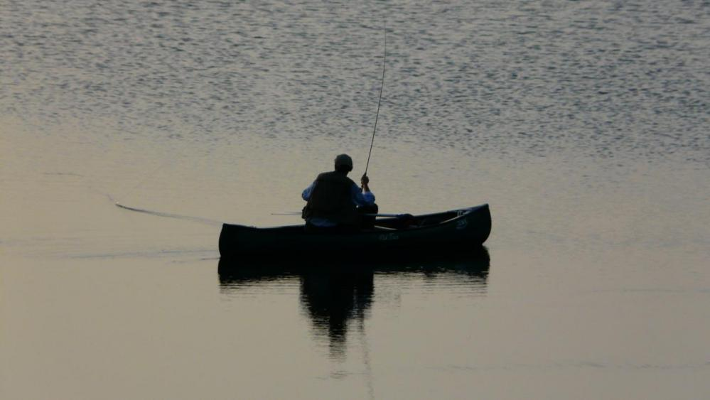 plan d' eau de Naussac