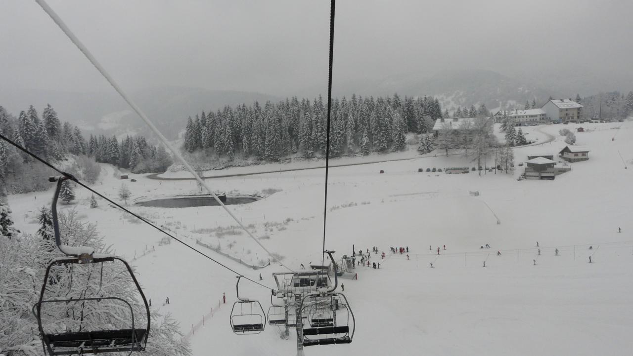 Ski au Ventron
