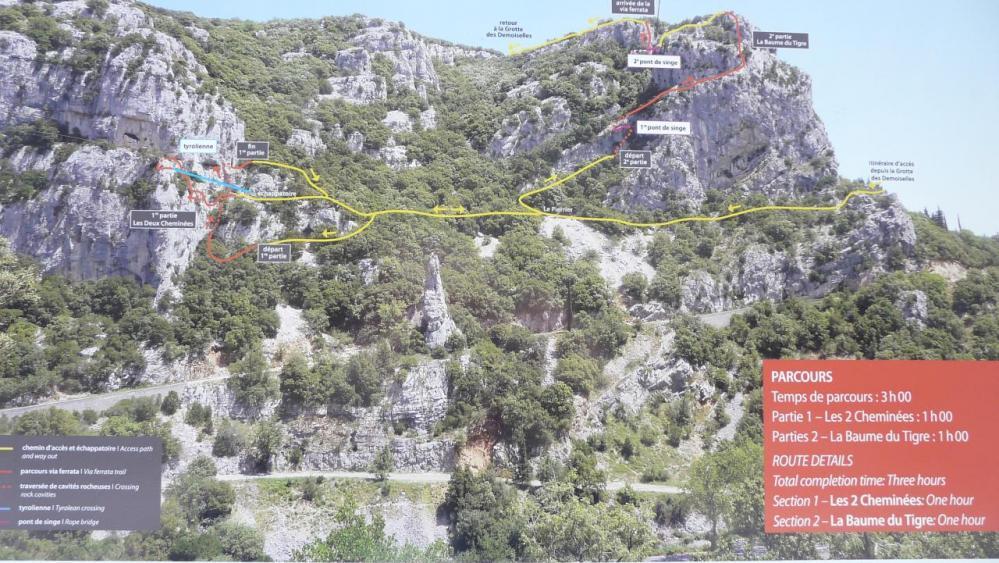 itinéraire via du Thaurac 2013