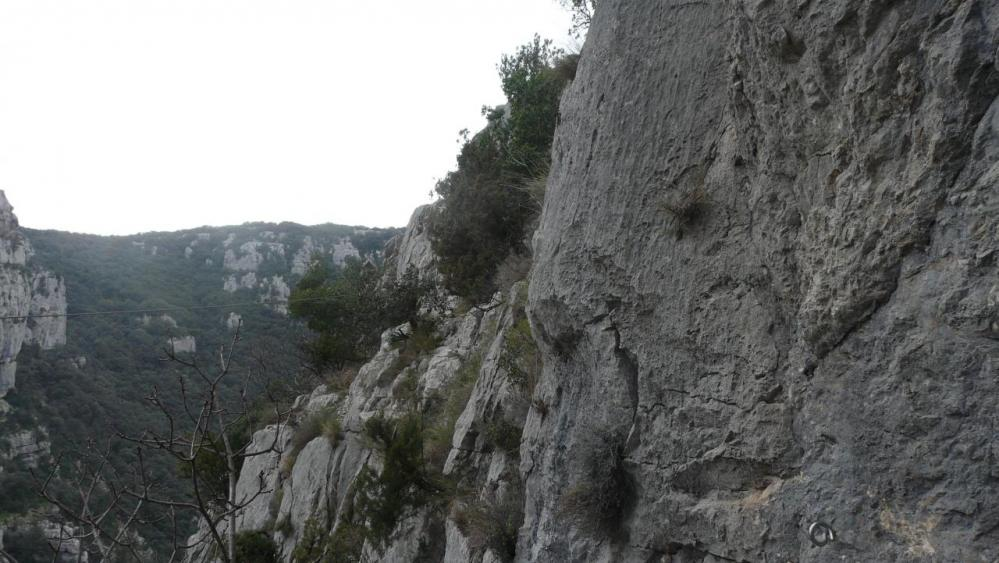 la tyrolienne de la via du Thaurac