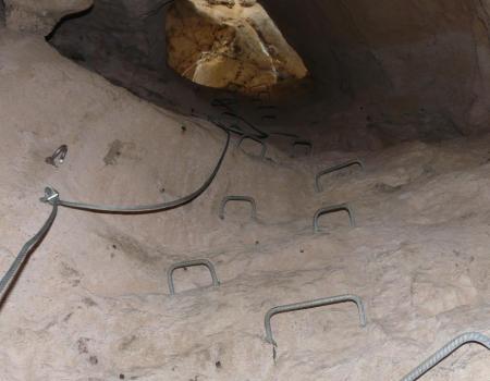 deuxième cheminée via du Thaurac