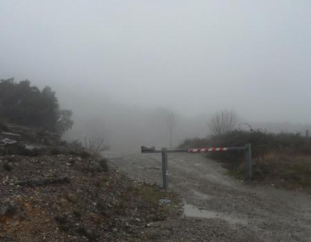 la barrière de la carrière de la grotte des  Clarys