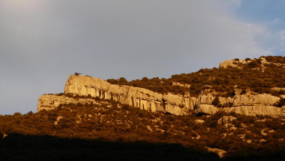 Ranc des Banes à Sumène (un lendemain de pluie !)