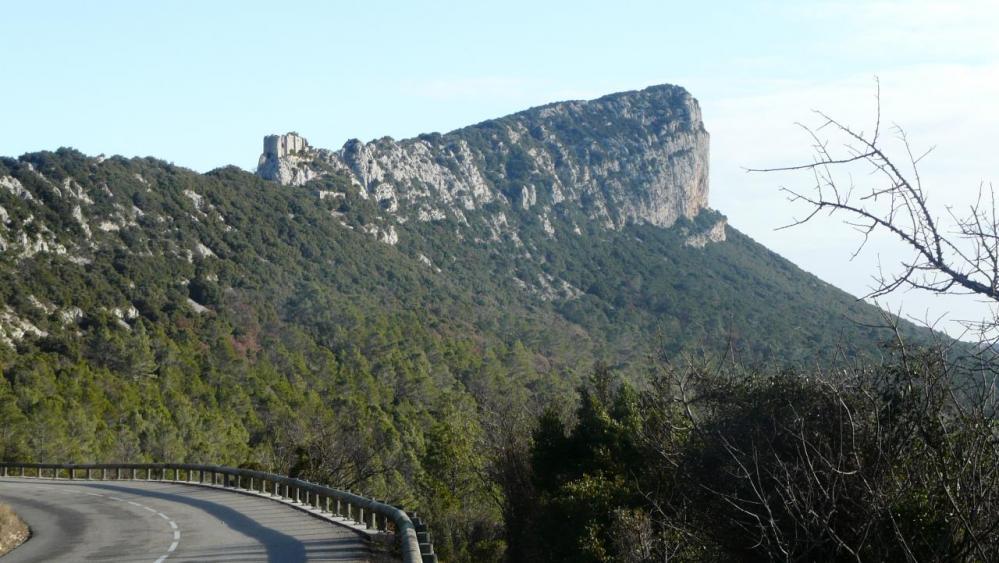 montagne de l' Hortus et son château