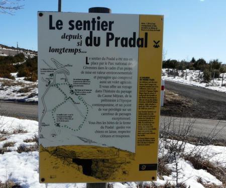 le sentier du Pradal