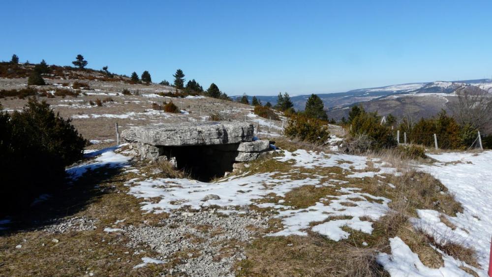 la pierre plate (photo prise en hiver)