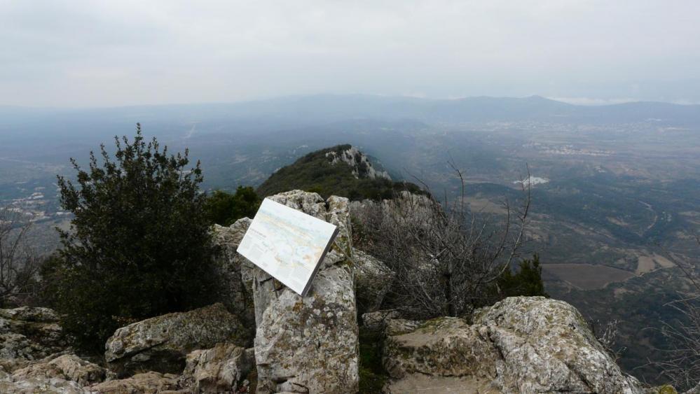 panorama 360° au sommet du pic