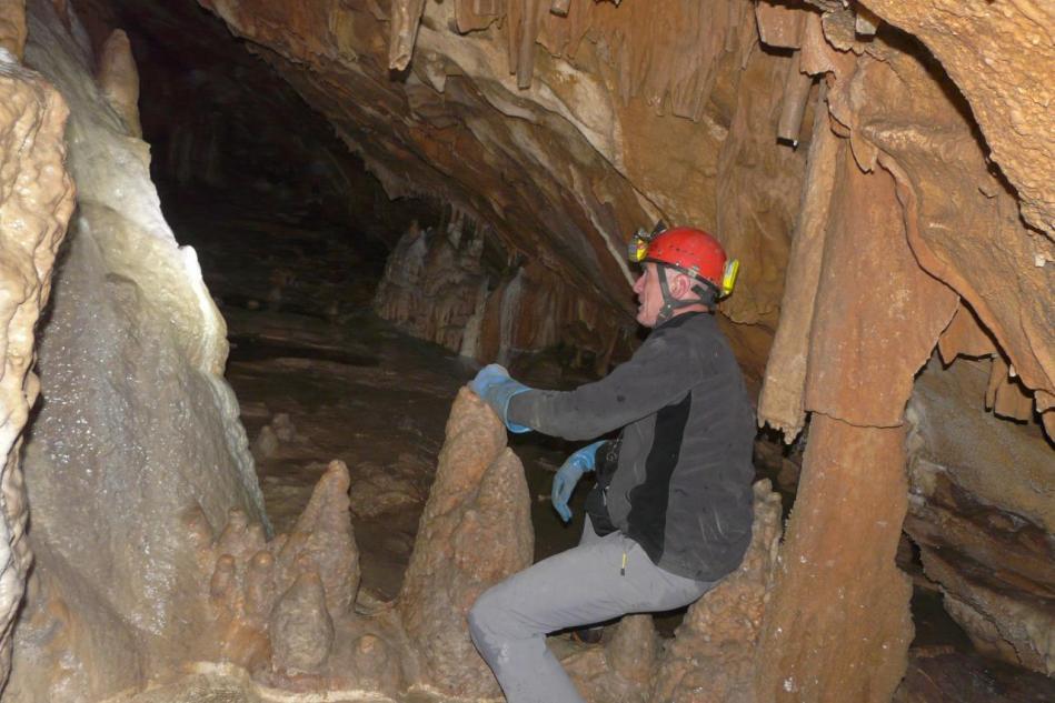 la grotte merveilleuse à Balme de Rencurel