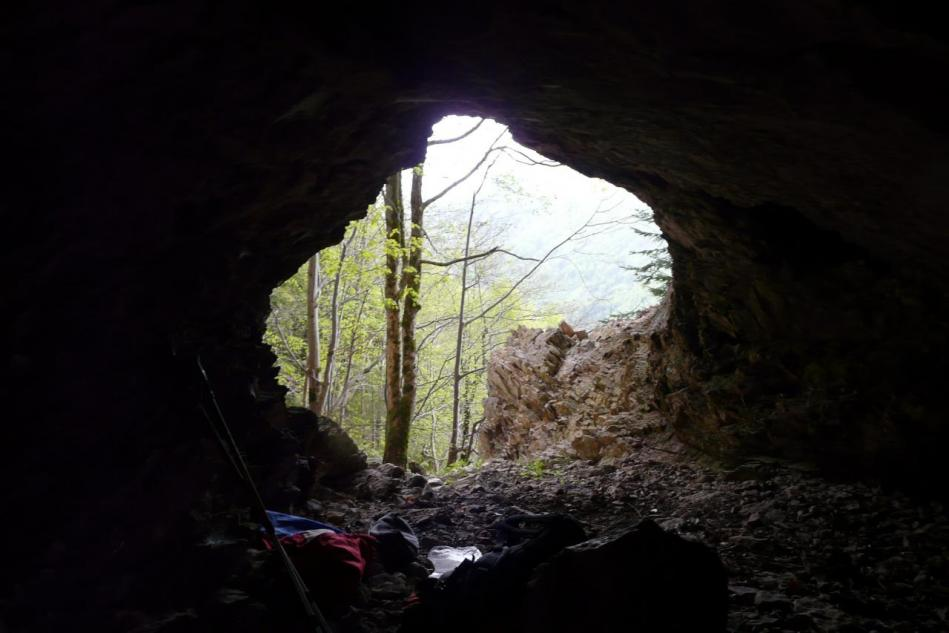 La sortie de la grotte merveilleuse