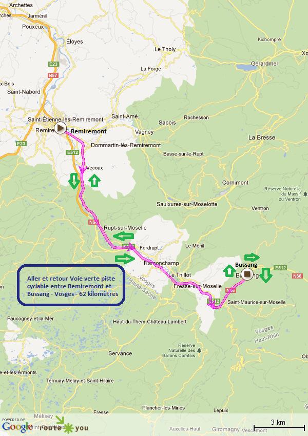 route-verte-remiremont-bussang (vosges)