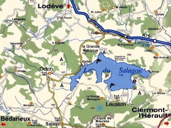 Lac du Salgou