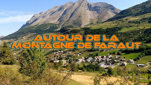 Circuit vélo autour de la montagne de Faraut (hautes Alpes)