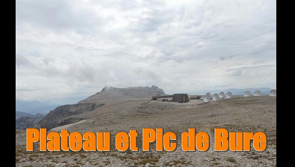 Randonnée Plateau et Pic de Bure  - Hautes Alpes