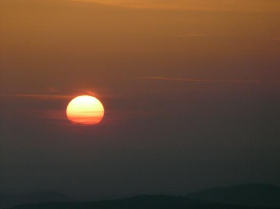 Coucher de soleil Hohneck  Vosges(2008)