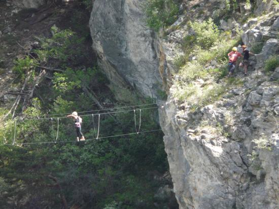 Pont thibétain -Rois mages-Aussois-Savoie-2009