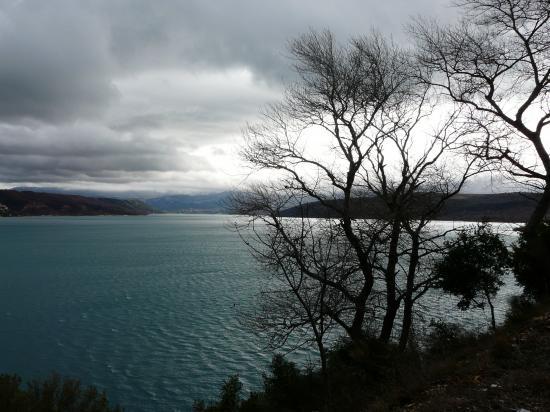 lac de ste Croix _ 04 - jour de nuages