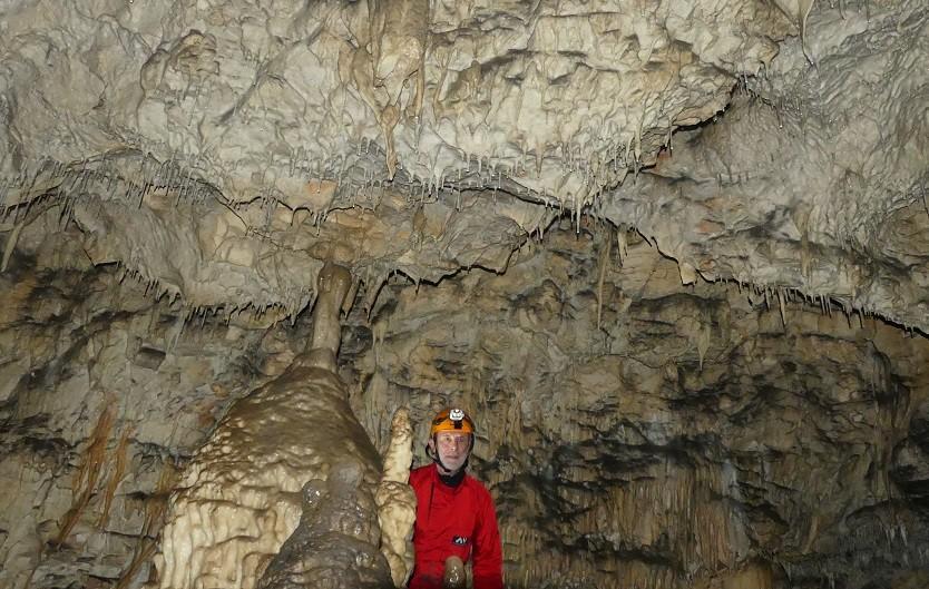 Grotte d' Arbois (Jura) en mai 2021