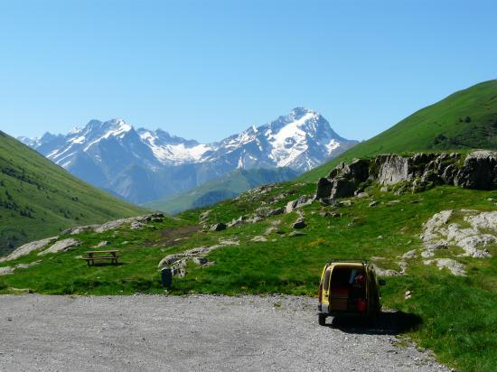 Alped'Huez parking viaferrata