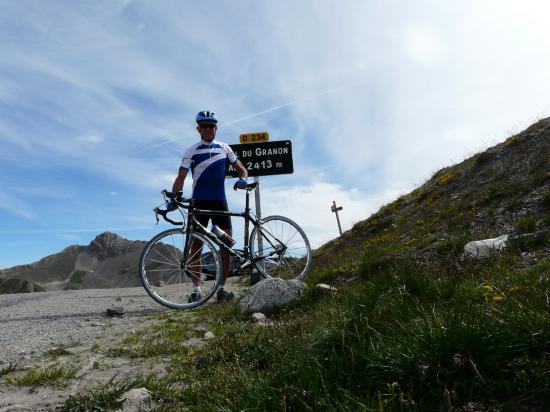 Col du Granon à vélo