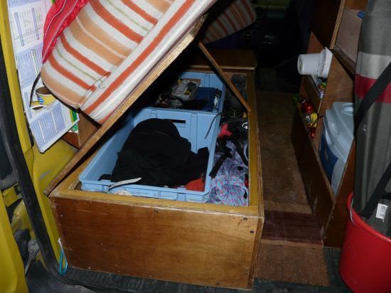 Le lit coffre