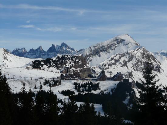 Ski Avoriaz depuis les Prodhains