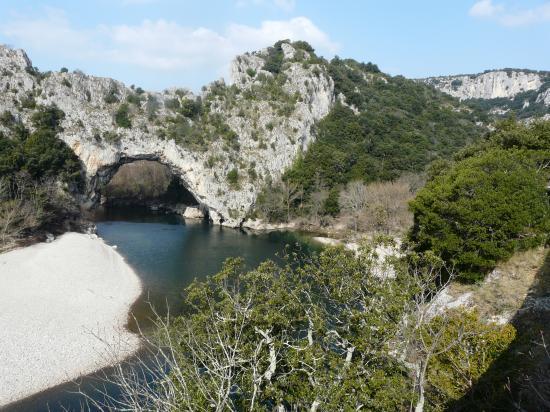 Gorges de l' Ardèche à vélo