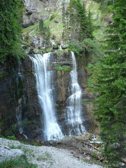 La grande cascade de St Même