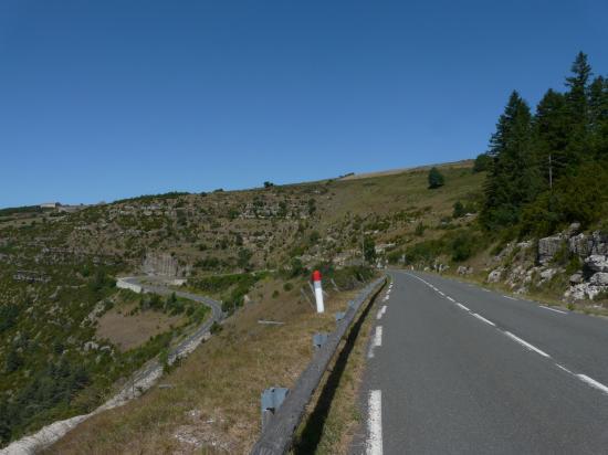 Circuit vélo corniche des Cevennes