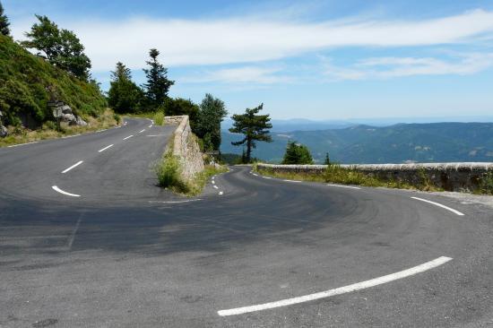 Circuit vélo autour du Mont Lozère