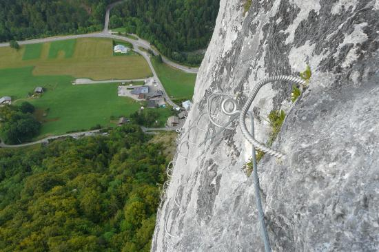 Via ferrata de St Jean d' Aulps (74)