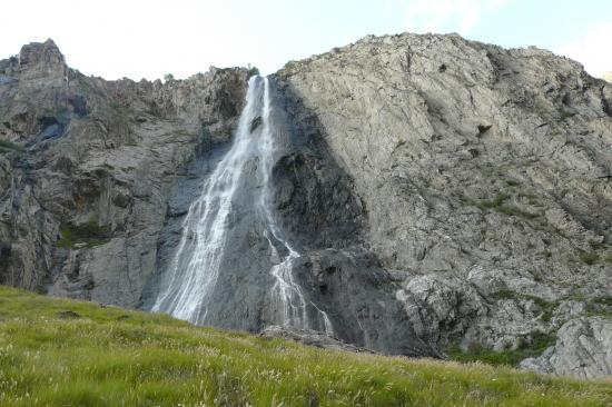 via ferrata de la cascade de la Pisse à Mizoen