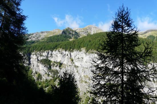 le site général de la via de la cascade aux Orres