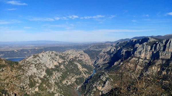 Randonnée sentier de l' Imbut - Gorges du Verdon