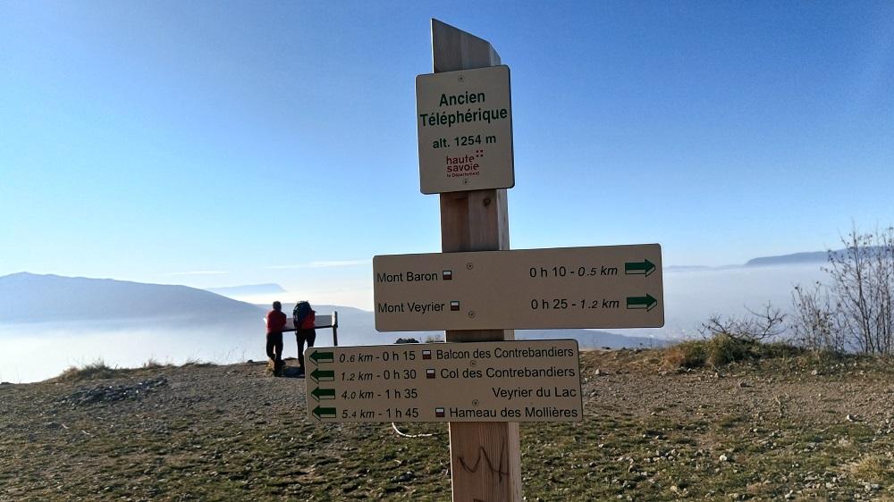 Circuit randonnée Mont Veyrier  Haute Savoie