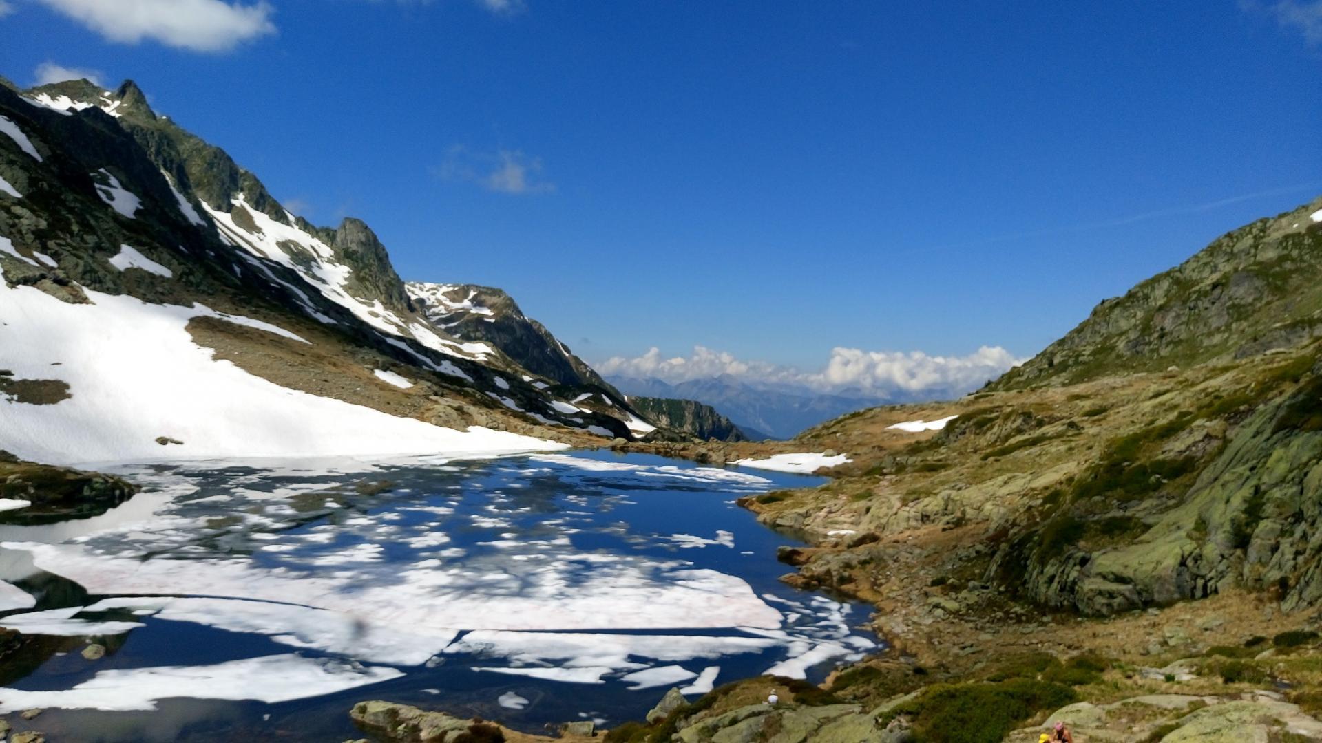 Randonnée lacs des Tempêtes/Grand Mont/Beaufortin