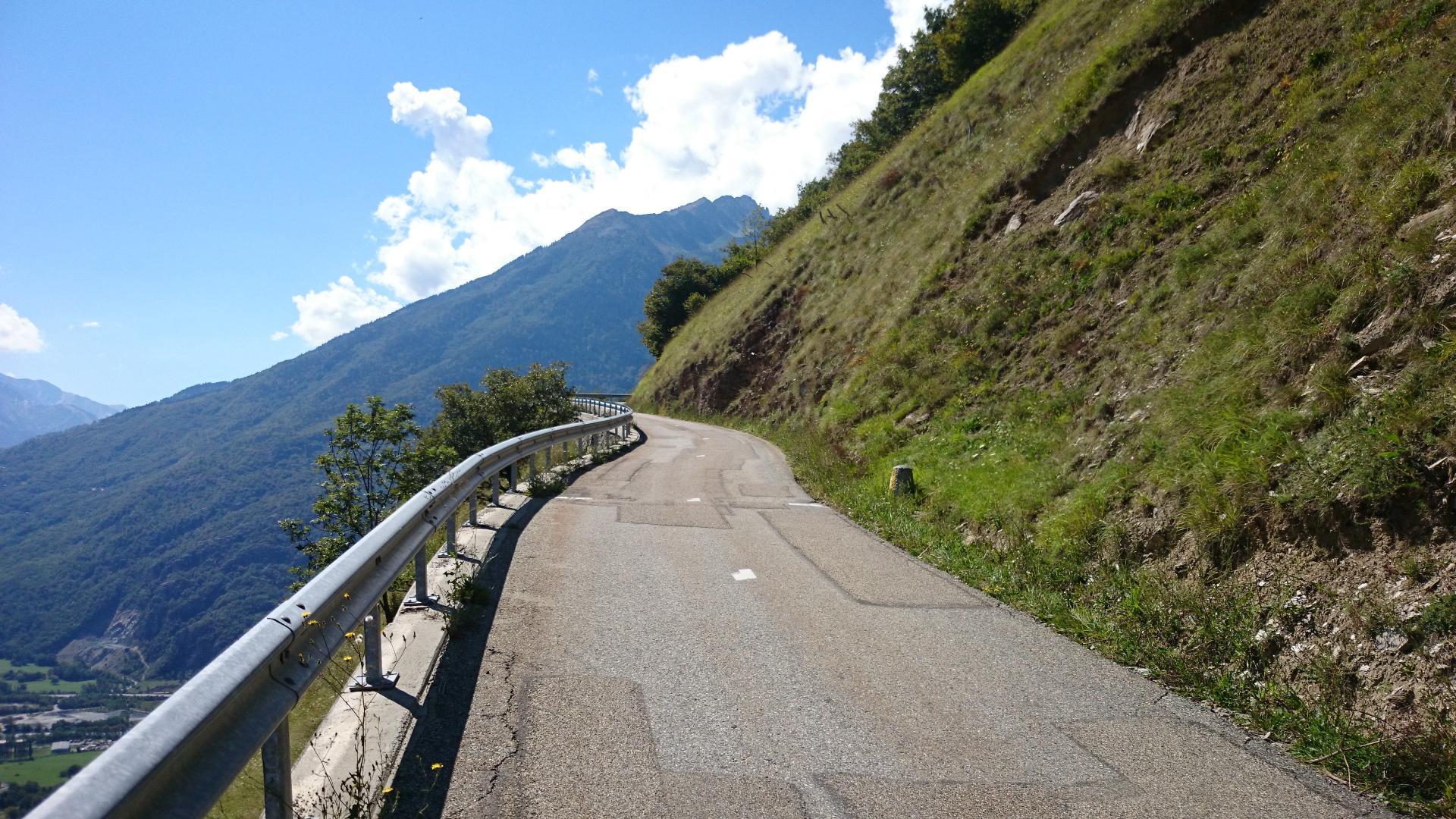 Col de la Madeleine à vélo par ND de Cruet