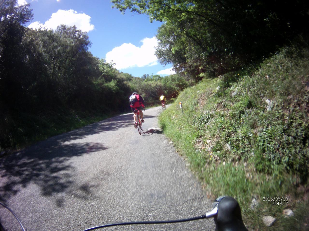 Circuit vélo autour de Méjannes le Clap
