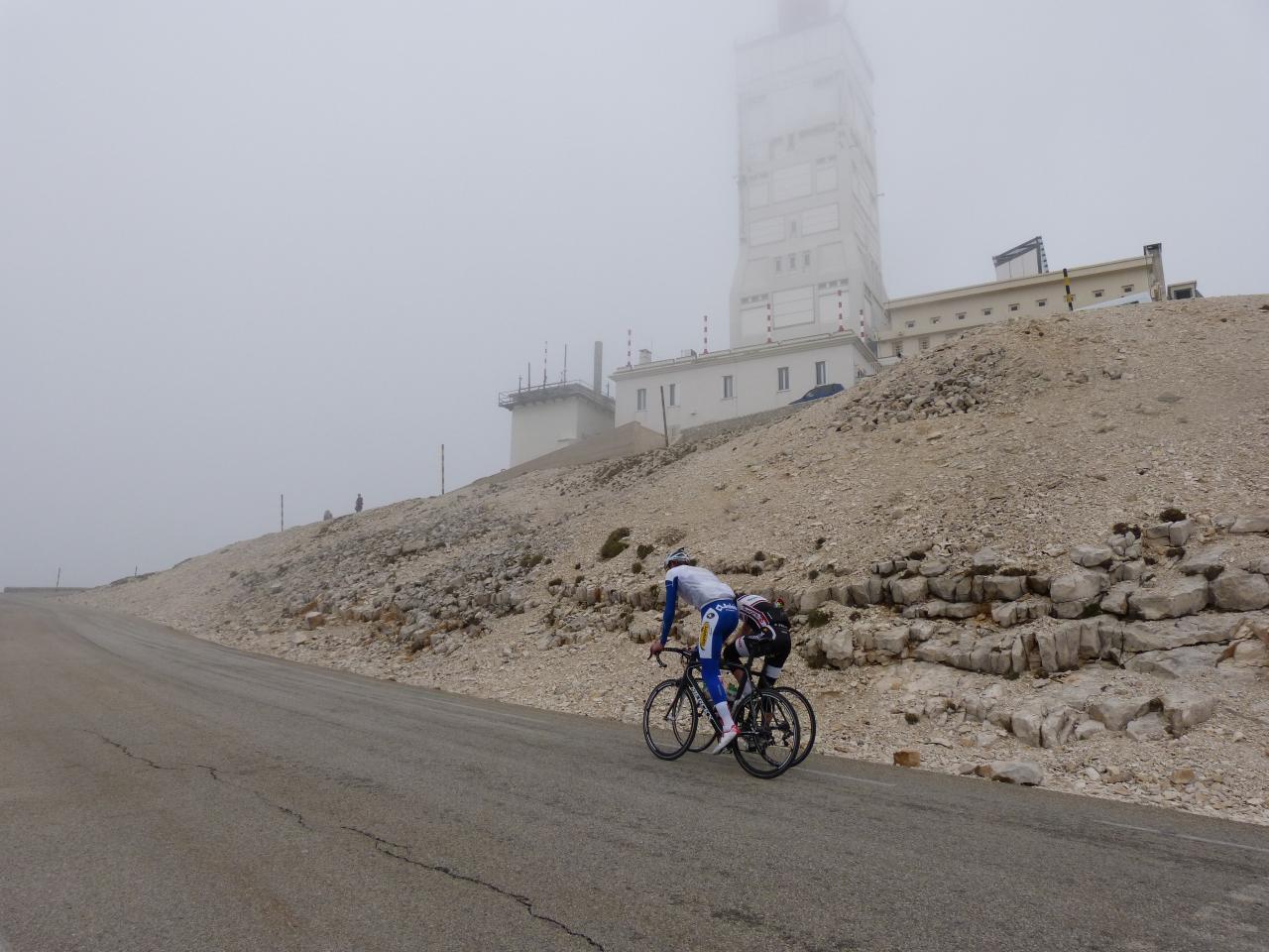 Circuit vélo Le Ventoux par les gorges de la Nesque