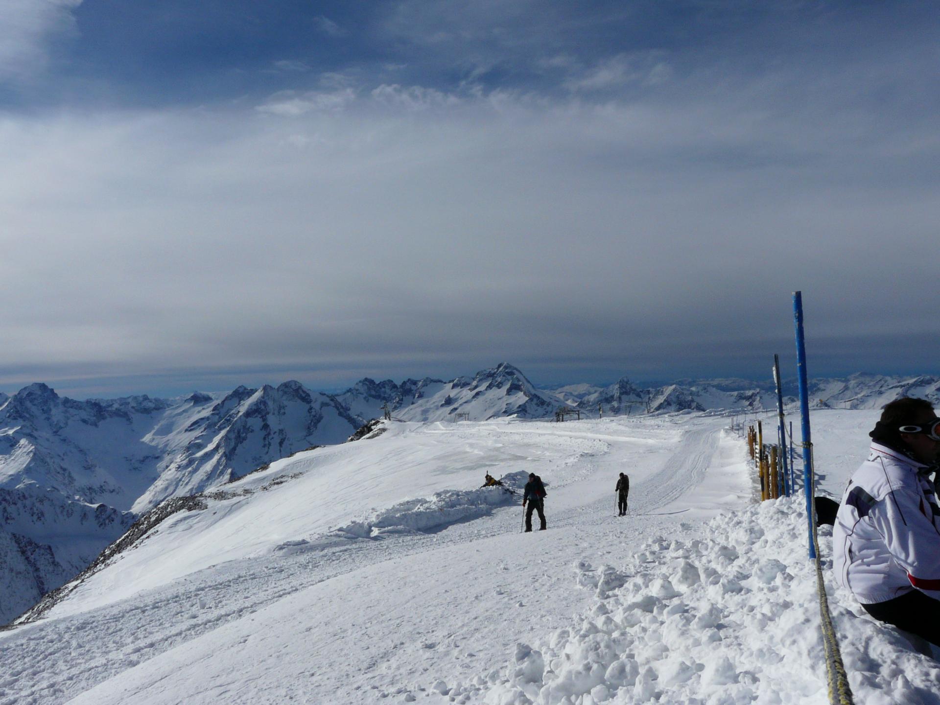 ski aux deux Alpes