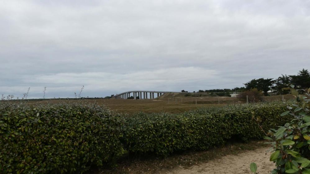 Pont reliant le continent à Noirmoutier