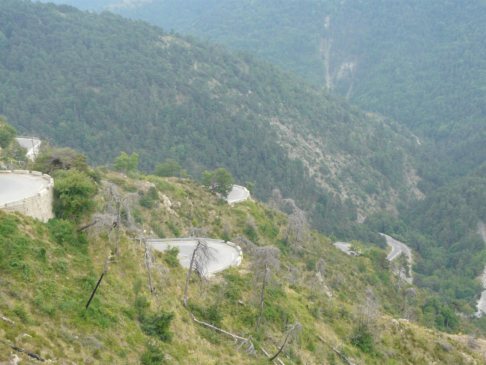 Col de Braus à vélo