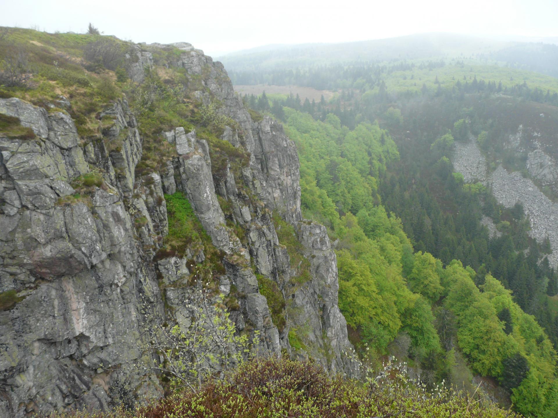 Randonnée Schlucht,Hirschsteine,lac vert,Tanet / Vosges